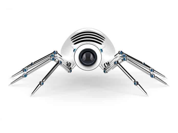 Edderkoppespind kan burges til robotter