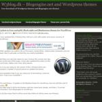Greenline theme worpdresse blog