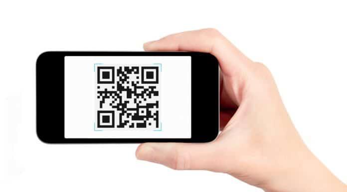 Mobil QR scanner