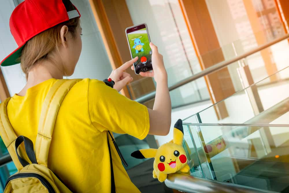 Pokemon go spiller bangkok